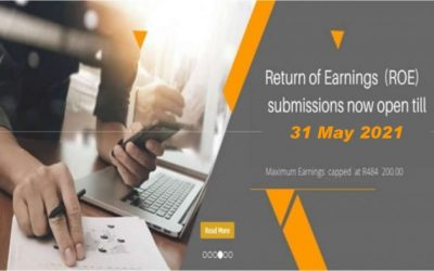 The deadline for the 2020 Return of Earnings submissions have been extended until end May 2021